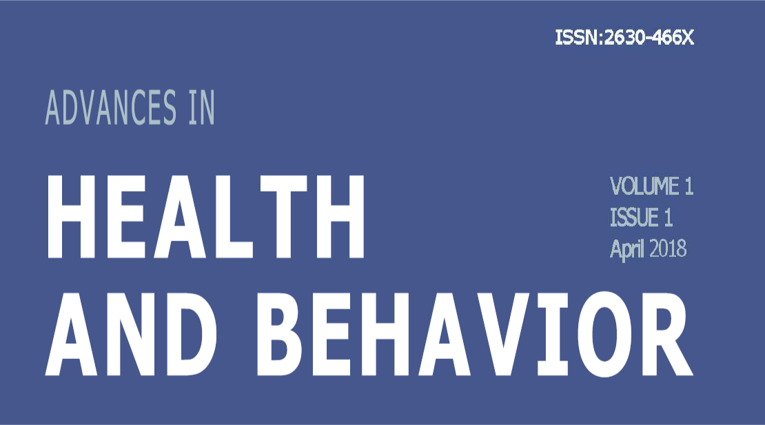 Advances Health and Behavior